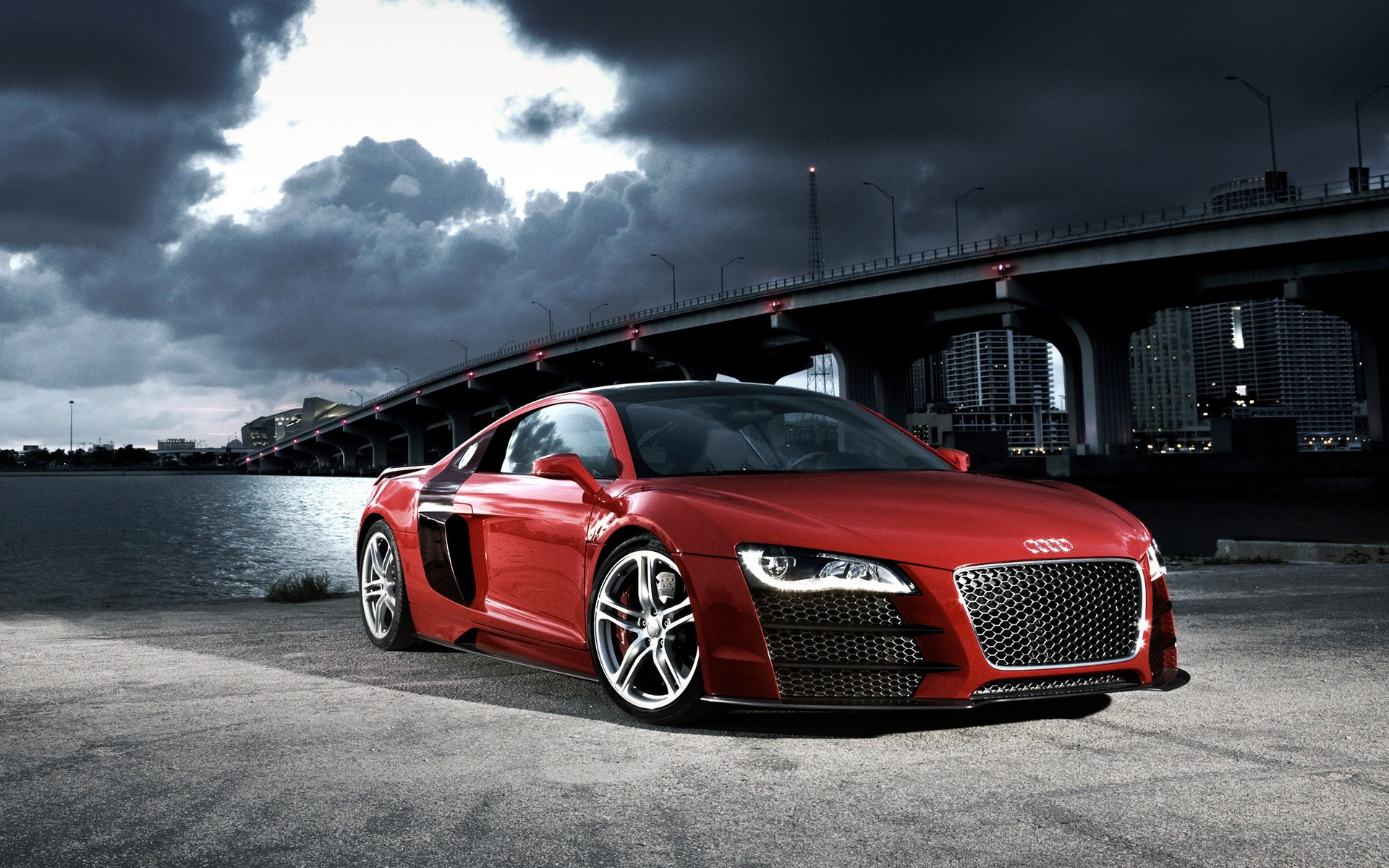 Download Desktop Wallpaper Audi RS Photos Of Red Sports Car - Red sports car