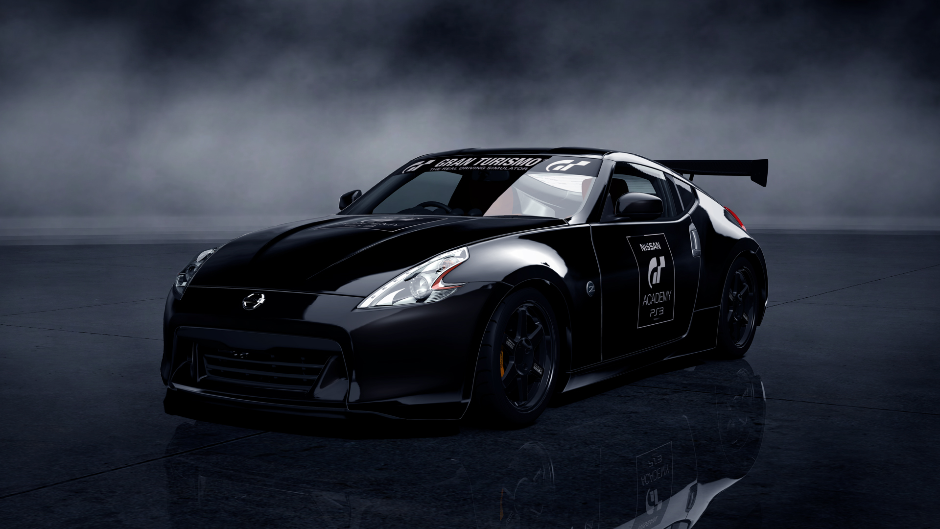 Download Desktop Wallpaper 3d Model Of Nissan Car Game Gran Turismo