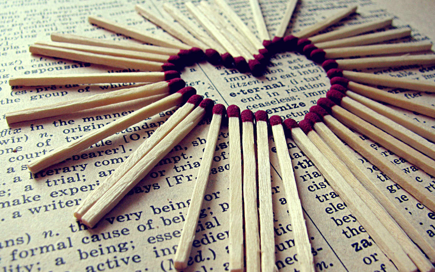 Download Desktop Wallpaper Love On The Tips Of Matches