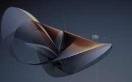 3D shapes - wallpaper