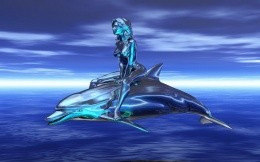girl-with-dolphin
