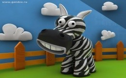Zebra - 3D wallpapers