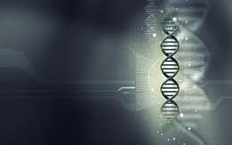 Abstract wallpaper on medical subjects to DNA structure