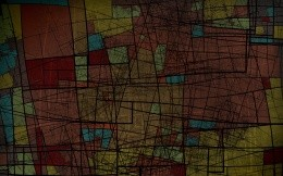 Abstraction, resembling stained wallpaper