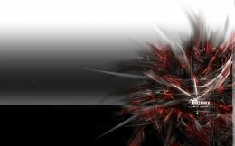 Black - white - red abstract wallpaper