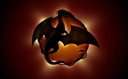 The symbol of the dragon