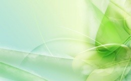 Wonderful green abstract