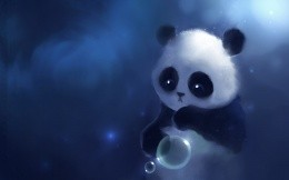 Little painted panda
