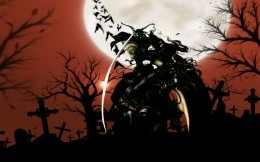 Anime - Wallpaper on the famous cartoon anime Vampire Hunter D.