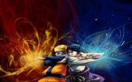Battle of Naruto and Sasuke