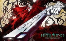 Famous anime series Helsing
