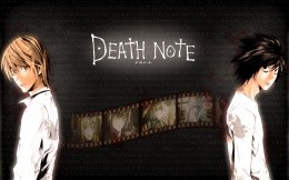 Heroes cartoon Death Note, anime wallpaper.