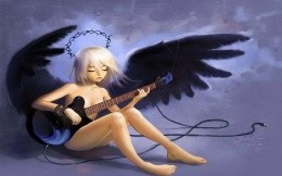 sad music of Black Angel