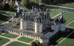 Castle of Chambord, France, photo