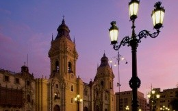 Cathedral Plaza de Armas in Peru