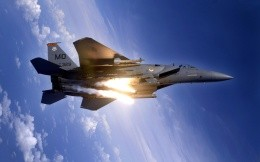 Military aircraft F15 Eagle