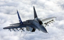 Photos of Russian military aircraft MiG 35 Fulcrum-F