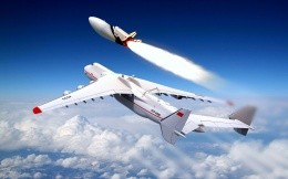 Starting with the Russian Space Shuttle Buran cargo plane