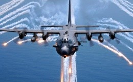 U.S. military aircraft AC 130
