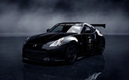 3D model of Nissan car game Gran Turismo, wallpaper