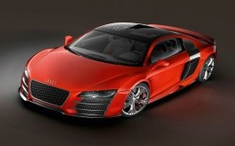 3D model of the Audi sports car