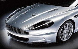 Aston Martin car front end astomobilya.