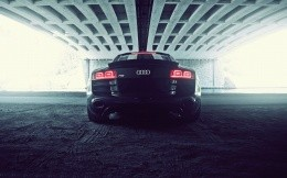 Audi R8 V10, photo, rear view