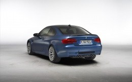 BMW M3 Coupe 2011 back view