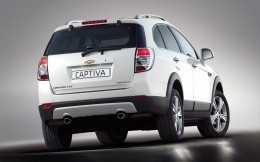 Chevrolet Captiva rear view