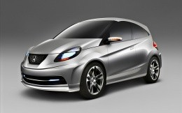 Compact city car concept Honda