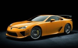 Extreme charged version of Lexus LFA