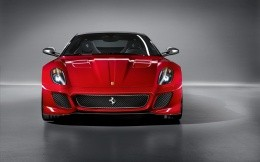 Ferrari 599 GTO, photo wallpaper.