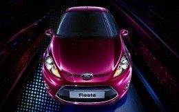 Ford Fiesta car front view