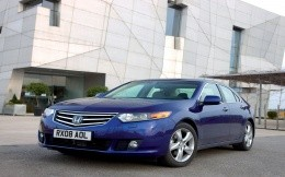 Honda Accord car blue