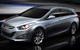 Hyundai i40 car wallpaper photo