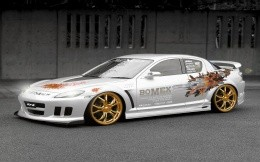 Mazda RX-8 in Tuning