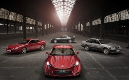 New Toyota FT 86 concept to other company models