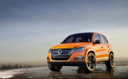 New Volkswagen Tiguan 2011 at the Coast