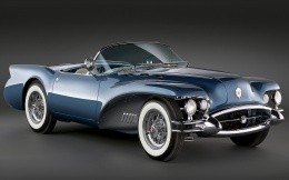 Old mobile sports - Buick convertible