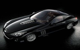 Peugeot, stylish, black - Wallpaper