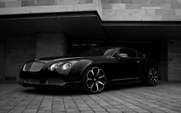 Posh double car Bentley Continental GT