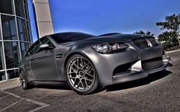 Silver-gray BMW M3, car wallpaper