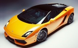Sports car Lamborghini Gallardo, photo wallpapers