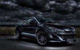 Sports version of the Peugeot, photo coupe from Peugeot.