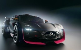 Stylish concept car from Citroen