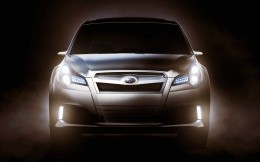 Subaru Legacy 2010 release, front view photo