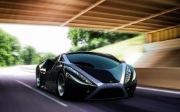 Super car, photo wallpaper