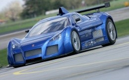 The new Gumpert Apollo Blue Highway