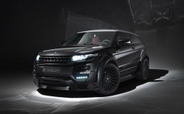 The new Range Rover Ewoks photo in tuning from Hamann