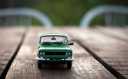 Toy car Moskvich 2140